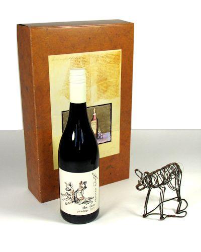 wijngeschenk Painted dog