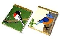 notitieblokjes met vogel