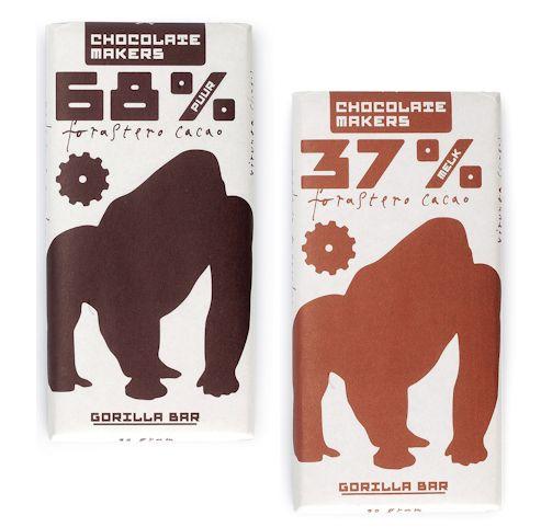 gorilla chocolade