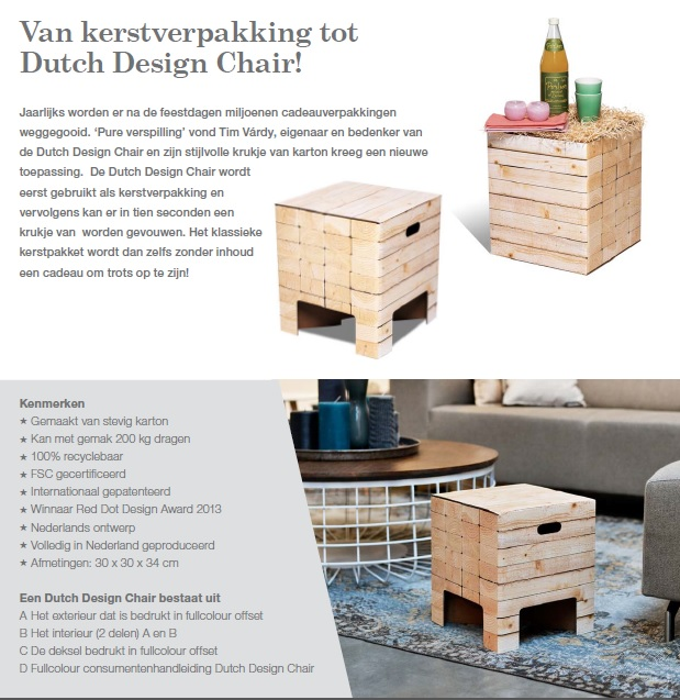 Dutch Design Chair info