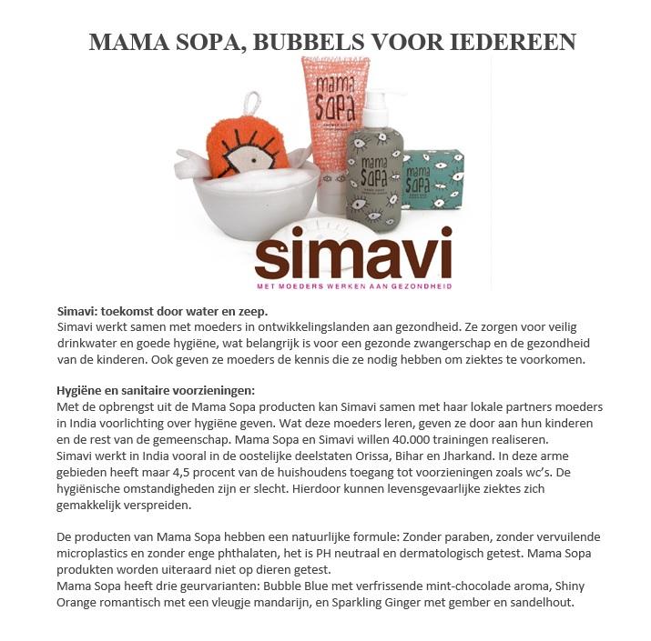 Mama Sopa informatie