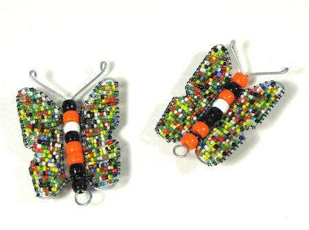 vlinders van kraaltjes